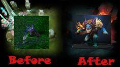 Эволюция героя Slark Dota 2