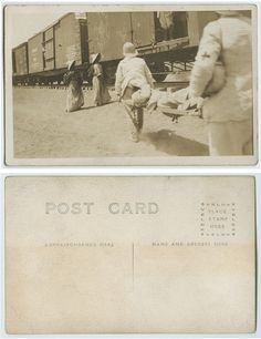 [Loading the wounded into Southern Pacific Railroad car]