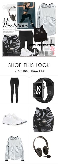 """""""#PolyPresents: New Year's Resolutions"""" by stylemeup-649 ❤ liked on Polyvore featuring Lucas Hugh, adidas, H&M, Lanston and Monreal"""