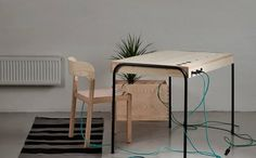 This desk will turn your laziness into clean energy.
