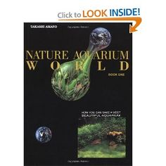Nature Aquarium World by Takashi Amano. THE MAN HIMSELF :O