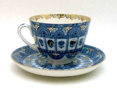 russian tea cups | Russian Teacups from Lomonosov Porcelain at The Russian Shop.