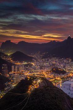 wonderous-world:  Rio de Janeiro, Brazil by decastr5