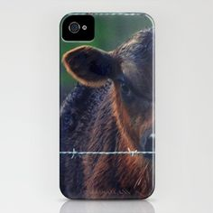 Moo Cow II iPhone Case by RDelean - $35.00