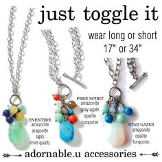 Just toggle it adornable.u accessories