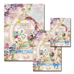 Daphne's Diary Notebooks Set of 3