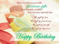 Have A Blessed Birthday  Happy Birthday