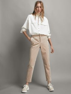 f973edc27382d 9 meilleures images du tableau Pantalon beige femme en 2018 ...