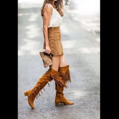 Zara Fringe Suede Leather Brown Camel Boots Zara Fringed Suede Leather Brown Camel Boots. US 6.5 EUR 37. Brand new with tags, but without box. COMPOSITION UPPER 100% cow leather LINING 85% cotton, 10% polyurethane, 5% polyester SOLE 100% vulcanized rubber Zara Shoes