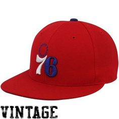 MITCHELL&NESS NBA 76ERS FITTED HAT MENS TK41KTSC by Mitchell & Ness. $25.99. TK41KTSC. 100% AUTHENTIC. BRAND NEW IN BOX. Mithchell & Ness Philadelphia 76ers Red Vintage Logo Fitted HatSix panels with eyeletsQuality embroideryOfficially licensed NBA productFlat billImported100% WoolFitted100% WoolFittedFlat billQuality embroiderySix panels with eyeletsImportedOfficially licensed NBA product