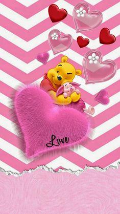 Winne The Pooh, Cute Winnie The Pooh, Winnie The Pooh Quotes, Friends Wallpaper, Bear Wallpaper, Cartoon Wallpaper, Purple Wallpaper, Wallpaper Iphone Disney, Cute Disney Wallpaper