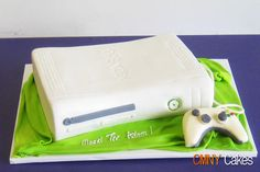 White Xbox Cake and Controller by CMNY Cakes, via Flickr