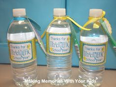 Thanks for a Tea-riffic School Year {Teacher Appreciation Gift} - Making Memories With Your Kids
