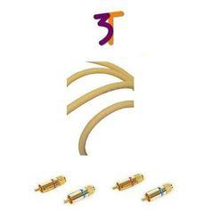 van den Hul The Cliff Hybrid 3T serie, a-Symmetrische RCA kabel,  80 cm