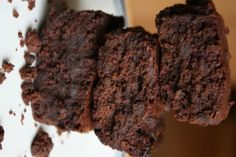 Wet Spent Grain Brownie Recipe - I baked these at 350 in an 8x8 for 40 minutes. They're kind of gritty, but still good if you're prepared for the crunchy grains.