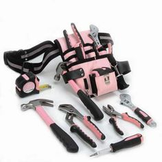 See, now those look like SERIOUS tools, not just cheap flimsy pink crap.