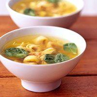 Tortellini Chicken Soup
