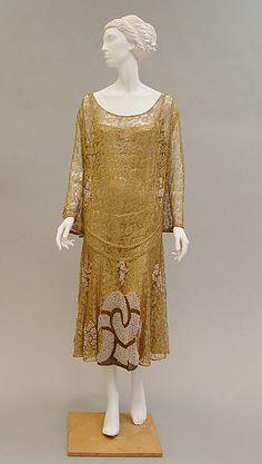 Evening dress Paul Poiret (French, Paris 1879–1944 Paris) Date: ca. 1925