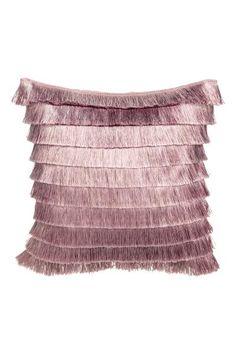 7,99€ H&M Hapsunauhainen tyynynpäällinen - Puuteriroosa - Home All | H&M FI 1