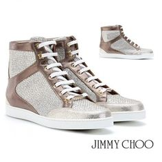 Jimmy Choo Tokyo Glitterスニーカー