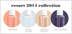 essie 2014 resort collection.