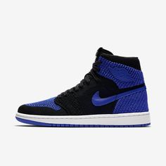 "ae7287fdde8ddc AIR JORDAN 1 RETRO HIGH FLYKNIT ""ROYAL""  94.99   Sneaker Steal Tênis Air  Jordan"