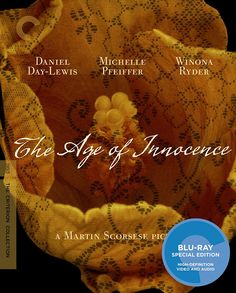 The Age of Innocence - Blu-Ray (Criterion Region A) Release Date: March 13, 2018 (Amazon U.S.)