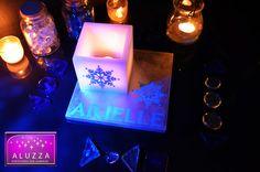 Centro de mesa para fiesta temática de Frozen, ALUZZA
