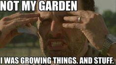 The Walking Dead Rick Grimes zombie LOL meme funny