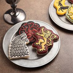 Game of Thrones House Sigil Cookie Cutters Additional Image