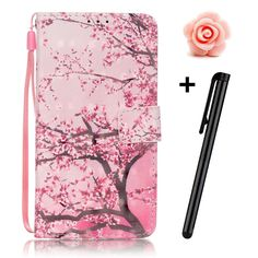 iPod Case iPod Touch 5 Case-TOYYM(TM) [Sakura] Stand Wallet Purse Credit Card ID Holders TPU Soft Bumper Premium PU Leather Ultra Slim Fit Cover for iPod Touch 5 5th Generation. Apple iPod Touch 5th / iPod Touch 6th Generation Case: High Quality PU leather with Soft Inner Protective Case Cover. Package:1x Fashion Wallet Case,1x Anti dust plug,1x Stylus Pen(Colors Random). Made of Soft Leather which is safe and protective,light weight which fits your phone perfectly. The case molded to fit...