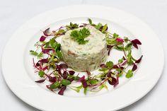 ... plating ideas salmon avocado avocado salads lemon chives forward prawn