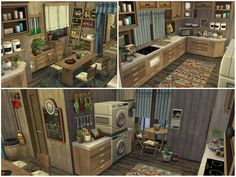 lotsbymanal's COUNTRYSIDE HOUSE Sims Community, Sims House, Electronic Art, Cozy House, The Expanse, Sims 4, Countryside, Cool Stuff, Cool Things
