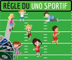 Le uno sportif - Mon enfant fait du sport Adolescence, Animation Sportive, Theme Sport, Family Guy, Activities, Comics, School, Diy And Crafts, Books