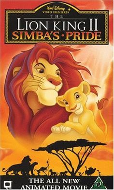 30 Day Disney Challenge Day 28 Favorite Sequel- The Lion King II Simba's Pride