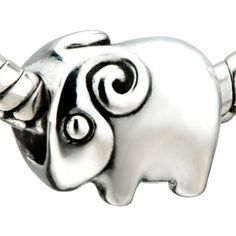 Pugster Jewelry Cute Ram Beads Fit Pandora Chamilia Biagi Charm & Bracelet Pugster. $12.49. Pugster are adding new designs all the time. Hole size is approximately 4.8 to 5mm. Fit Pandora, Biagi, and Chamilia Charm Bead Bracelets. Unthreaded European story bracelet design. Measures 9mm X 14mm