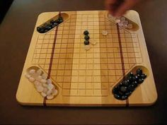 Pente Game Board - Marble Board Games, LLC
