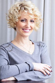 pictures of short haircuts for women over 50 | Curly Hairstyles For Women Over 40 | StyleCraze