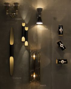 Chuck Mid Century Modern Wall Lamp | DelightFULL Trends 2017 | For more inspirations visit and follow: www.delightfull.eu
