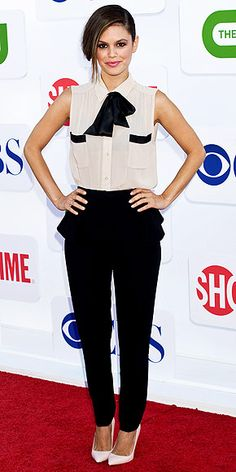 Rachel Bilson Image Via: People StyleWatch.  Except for the white shoes....I have a strange aversion to white shoes.