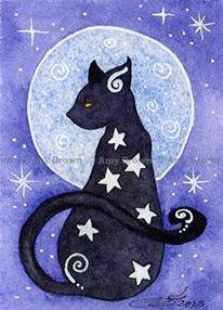 Amy Brown black cat                                                                                                                                                                                 More