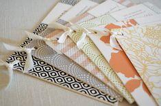 ribbon + paper {via oh so beautiful paper . via mint + hello tenfold}