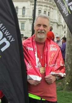 Well done to Andrew Garman for completing the London Marathon for Railway Children!