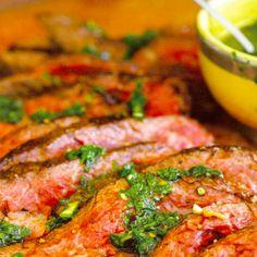 Steak with Parsley Sauce | Louisiana Kitchen & Culture