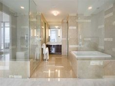 Luxury Master Bathroom | The Caribbean #S-402 | 3737 COLLINS AVE, MIAMI BEACH, FL 33140 | Jeff Miller Group
