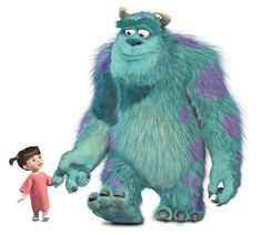 Pixar created a special trailer for Monsters Inc. Monsters Inc Boo, Monsters Inc Characters, Monsters Ink, Disney Monsters, Pixar Characters, Cartoon Cartoon, Sullivan Y Boo, Cute Disney, Monsters Inc
