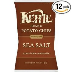 Kettle Chips, Sea Salt, 2-Ounce Bags (Pack of 24): Amazon.com: Grocery & Gourmet Food