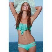 Lindo bikini!! color menta Tallas CH, M y G $500 pesos! #mintbikini #mabelletrendy #summer