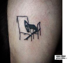 #kafkadrawingtattoo #kafka tattoo  #strangetattoo #intellectualtattoo