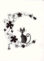 perro y gato dibujo tattoo - Buscar con Google